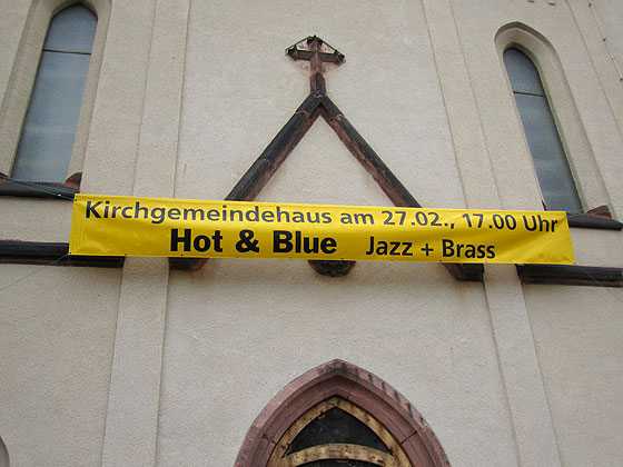 Hot & Blue Konzert